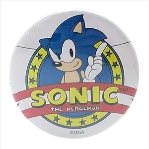 【ソニック・ザ・ヘッジホッグ】缶バッジ(クラシックソニック/エンブレム) 405151