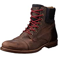 Wild Rhino Men's Highland Boots, Brown