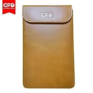 GPD Pocket GPD社純正レザーケース(合成皮革)ナチュラルブラウン [正規輸入品]