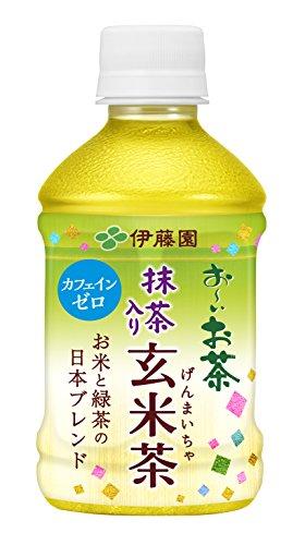 おーいお茶 抹茶入り玄米茶 カフェインゼロ ペット 280mlx24本