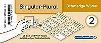 Meine Grammatikdose 2 - Singular-Plural - Schwierige Woerter: 25 Bild- und Wort-Paare mit rueckseitiger Selbstkontrolle in der Box