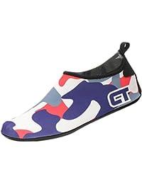 Panegy Swim Water Shoes Aqua Socks forメンズレディース子供用ビーチ裸足スキンシューズ