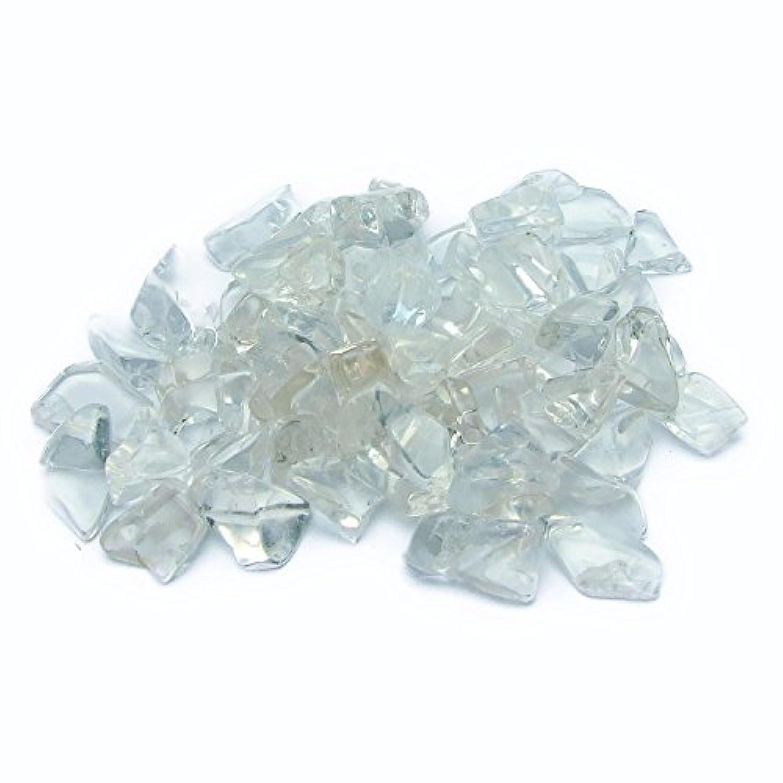 【hinryo】1kg 高品質 天然 AAAAA 浄化 さざれ 鑑別済 本物保証 天然石 パワーストーン (水晶 クリスタル さざれC 大粒(12mm~30mm))
