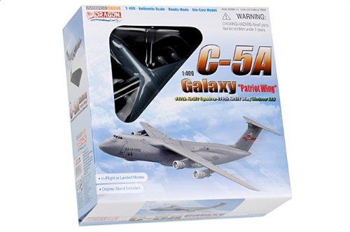 1:400 ドラゴンモデルズ 56347 ロックヒード C-5A ギャラクシー ダイキャスト モデル USAF 439th AW 337th AS #69-0005 ウェストover A【並行輸入品】
