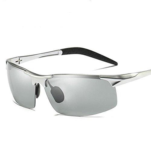 [해외]JL 편광 렌즈 스포츠 선글라스 남녀 겸용 UV400 자외선 운전 조깅 자전거 | 낚시 | 야구 | 테니스 | 스키 | 달리기 | 골프 | 드라이브 - 알루미늄 · 마그네슘 합금/JL polarized lens sports sunglasses unisex UV400 ultraviolet riding jogging b...