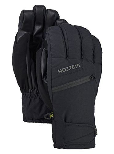 Burton(バートン) スノーボード グローブ メンズ ゴアテックス GORE‑TEX® UNDER GLOVE Lサイズ True Black 103541 手袋 防水 防風 透湿 タッチスクリーン操作可