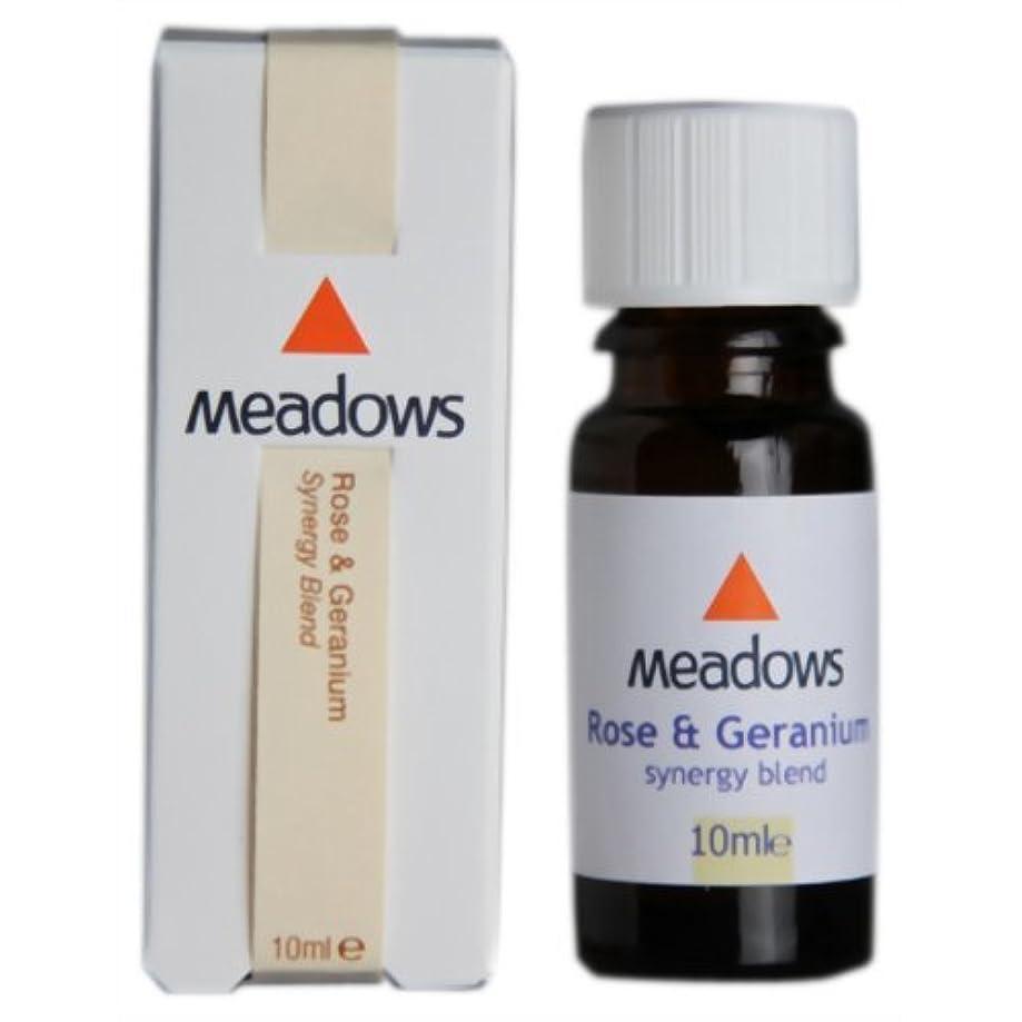 息を切らしてのために減らすメドウズ シナジー ローズ&ゼラニウム 10ml