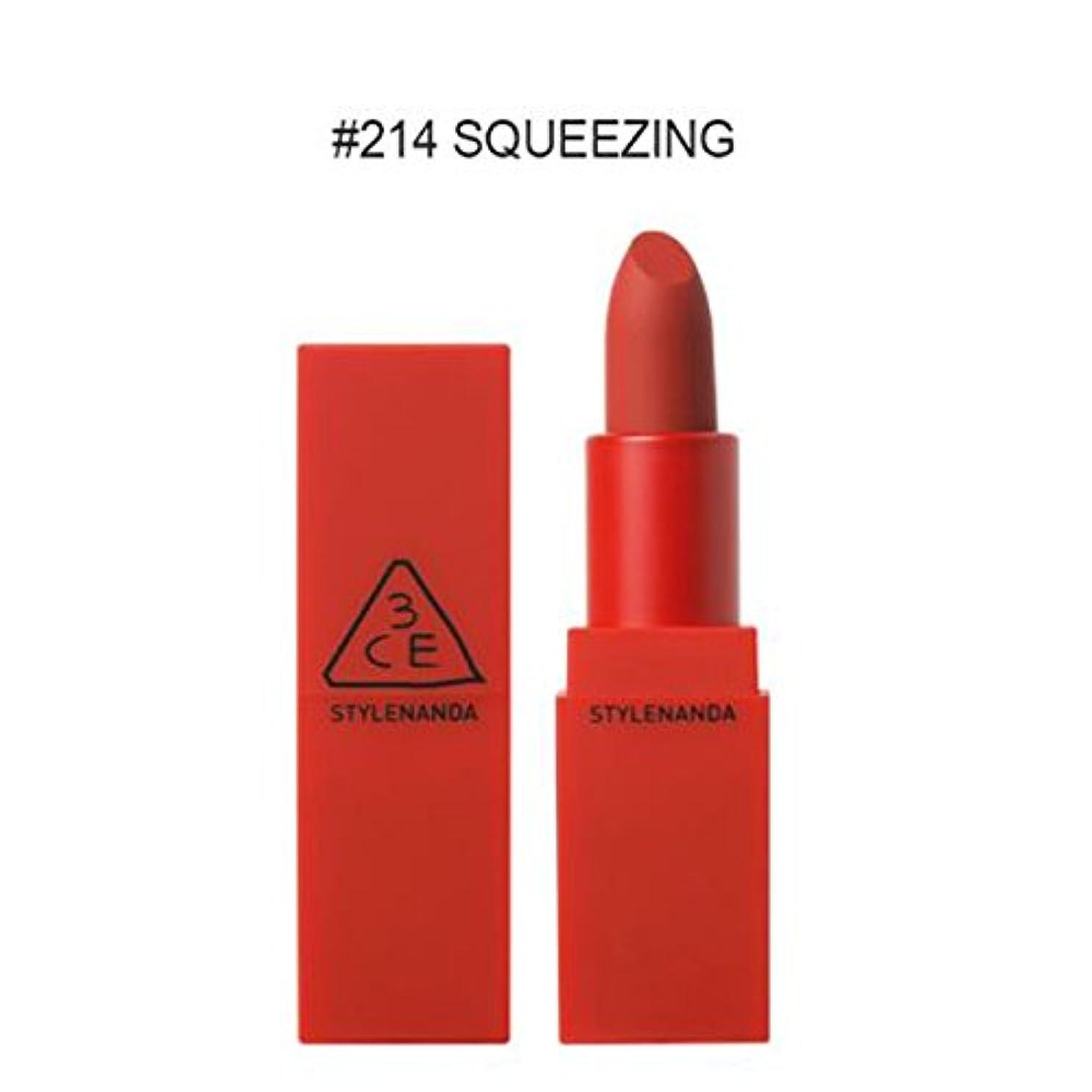 最終的に大腿に賛成【3CE STYLENANDA】 スタイルナンダ ムードレジピ リップ カラー/MATTE / RED/MOOD RECIPE LIP COLOR (#214)