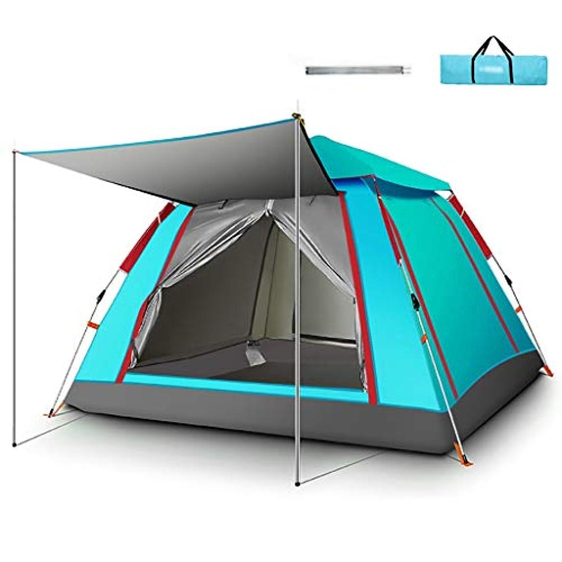 鹿マッサージ確保するキャリングバッグ付き5?8人防水全自動スピードオープンテント - ファミリーキャンプテント用ポップアップテント (Color : C)