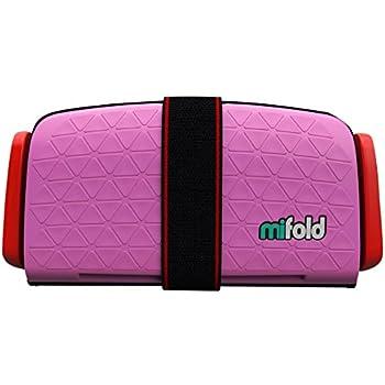 mifold(マイフォールド) ジュニアシート 携帯型 [日本正規品] パーフェクトピンク 3歳~ BCMI00101