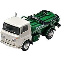 トミカリミテッドヴィンテージ 1/64 LV-180a いすゞエルフ バキュームカー 68年式 白/緑 (メーカー初回受注限定生産) 完成品