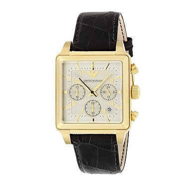 e248d4cd95 (エンポリオアルマーニ) EMPORIO ARMANI エンポリオ アルマーニ 腕時計 メンズ EMPORIO ARMANI ウォッチ AR1625  スクウェア クロノグラフ カーフ革/レザー グレー[並行 ...