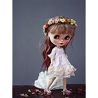 (ドーリア)Dollia ブライス 1/6ドール用 アウトフィット アイスクリーム フリルドレス パーティドレス 服 ネオブライス ドール 人形 (ピンク)
