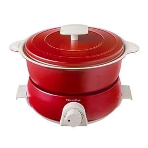 レコルト ポットデュオ フェット [ レッド / RPD-3 ] recolte POT DUO fete 電気鍋 マルチクッカー