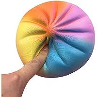 Reyo Mochiストレスおもちゃ、1 centアイテムストレッチソフトColourful Bun香りつきSlow Rising Kawaii Soft Squishy動物Stress Relief Toys Decompression Squishy Squeezeストレスボール REYO