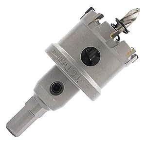 超硬 ホールソー ステンレス 製 鉄板 電動ドリル ボール盤 対応 選べる 穴あけ 道具 35mm