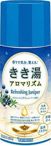 きき湯 アロマリズム リフレッシングジュニパーの香り 360g 入浴剤(医薬部外品)