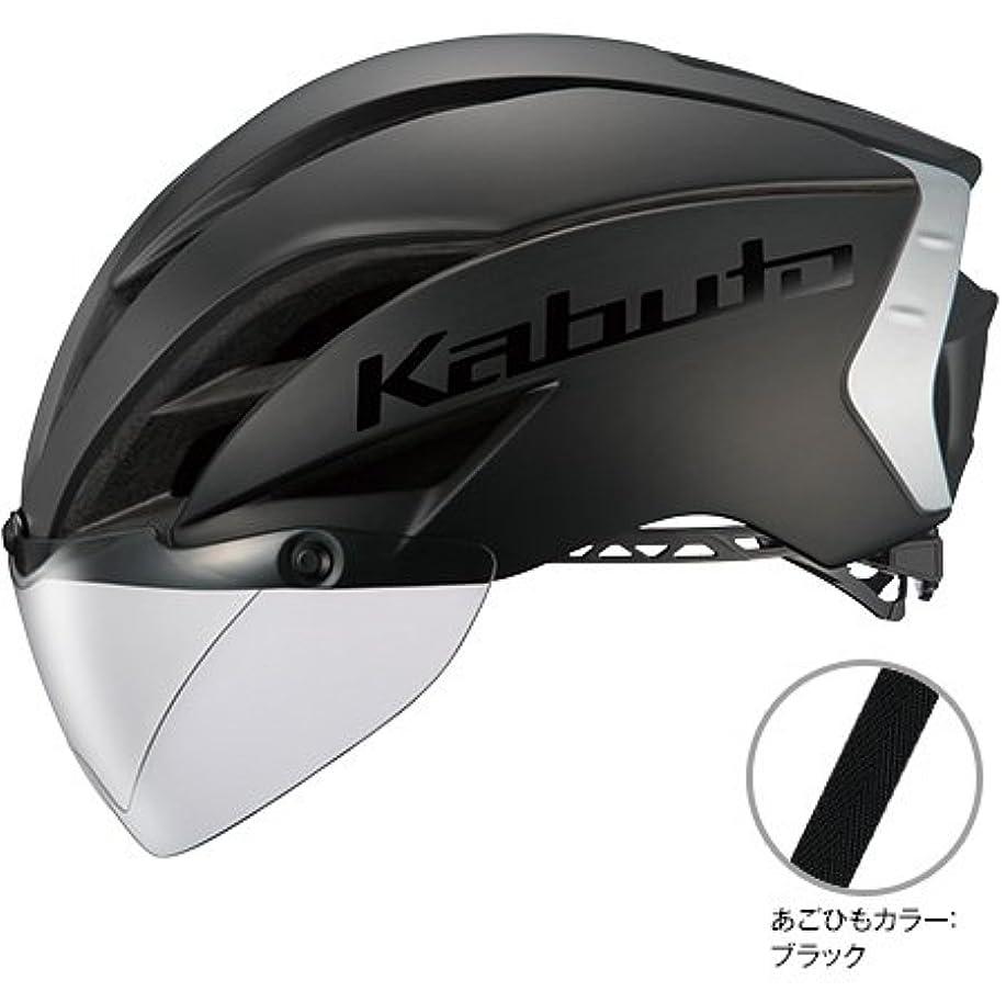 アヒルラッドヤードキップリング曖昧なOGK Kabuto(オージーケーカブト) AERO-R1 S/Mサイズ マットブラック ヘルメット エアロR1