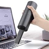 電動エアダスター ミニ掃除機 USB充電式 ミニクリーナー キーボード掃除機 ハンディクリーナー 強力 空気入れ 小型 軽量 3個ノズル付 逆さ対応 ガス不使用