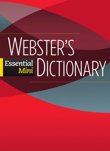 Download Webster's Essential Mini Dictionary (Cambridge Essential Eng Dictio) 0521133130