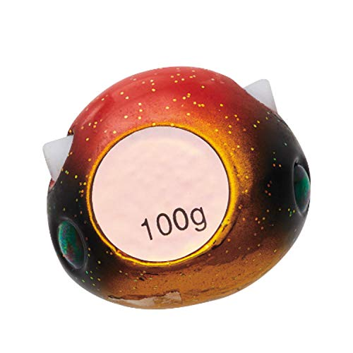 ダイワ(DAIWA) メタルジグ 紅牙 ベイラバーフリーTG α ヘッド 120g 黄金オレンジ