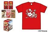 【Amazon.co.jp 限定】江崎グリコ ポッキーアソート スプラトゥーンコラボ企画 ポッキー応援セット オリジナルTシャツ&スリーブ付(赤バージョン)