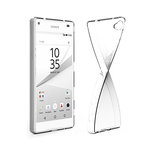 EasyAcc Sony Xperia Z5 Compact TPUケース 透明 クリア ケース 高品質 ソフトカバー 4.6インチ専用