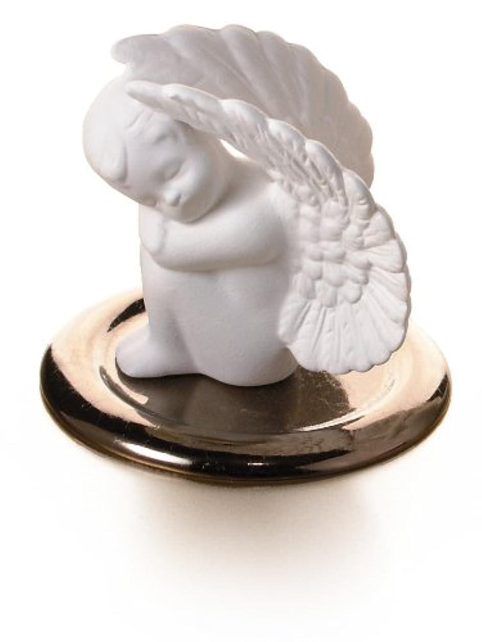 説教贅沢な透過性ポマンダー■ 守護天使(皿付き)