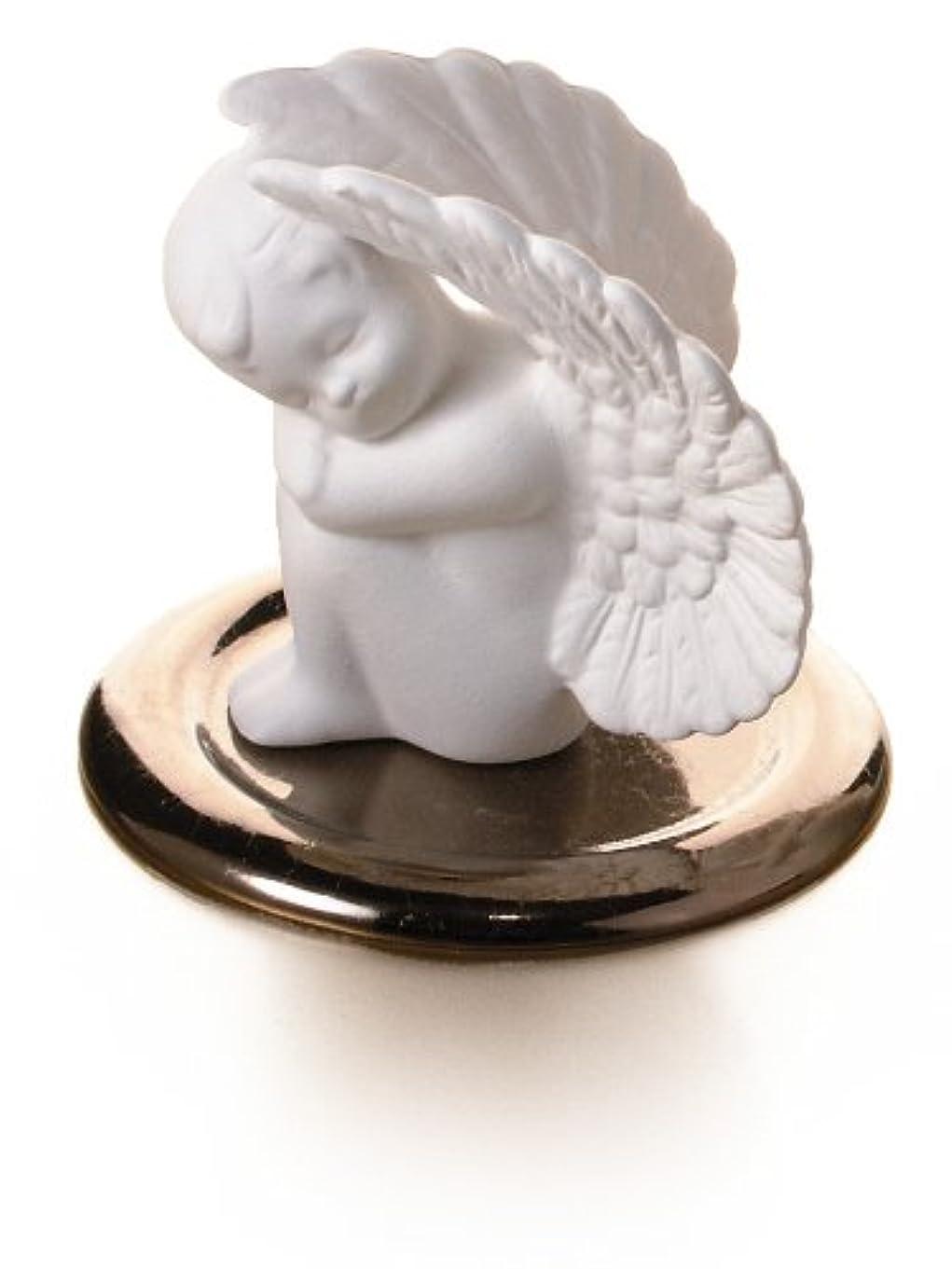 フォーマット寄託虐待ポマンダー■ 守護天使(皿付き)