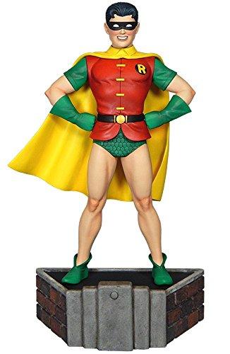 バットマン クラシックコレクション DCコミックス スタチューロビン(クラシック版) 高さ約23センチ レジン製 塗装済み完成品フィギュア