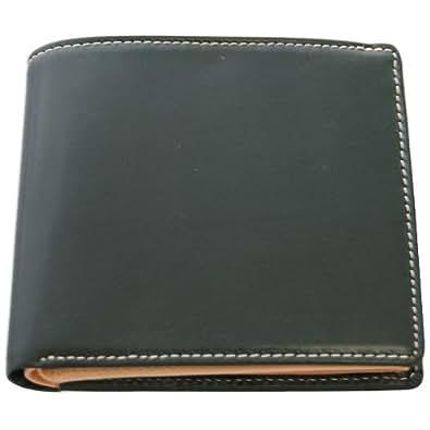 【BRITISH GREEN】ブライドルレザー二つ折り財布 (グリーン)