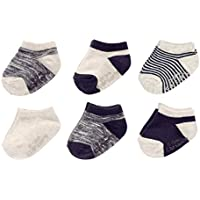 Baby Boy Ankle Socks (6 Pack)