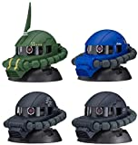 機動戦士ガンダム EXCEED MODEL ZAKU HEAD4 全4種セット