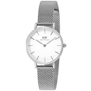 [ダニエル・ウェリントン]Daniel Wellington 腕時計 Classic Petite White Sterling ホワイト文字盤 DW00100220 【並行輸入品】