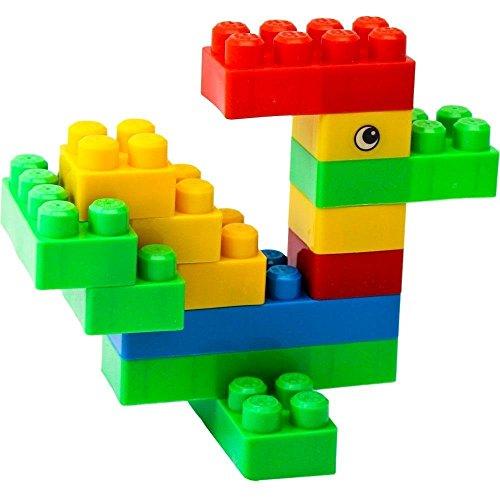 WTOR 積み木 ブロック 知育 おもちゃ 玩具 男の子 女の子 贈り物 誕生日プレゼント 出産祝い 130個バック (バック 1) WTOR
