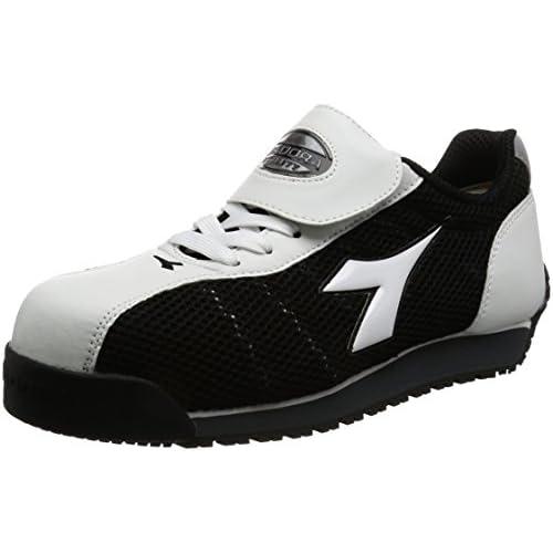[ディアドラユーティリティ] DIADORA UTILITY 作業靴 スニーカー キングフィッシャー KF12 KF12 ホワイト&ブラック(ホワイト&ブラック/26.0)