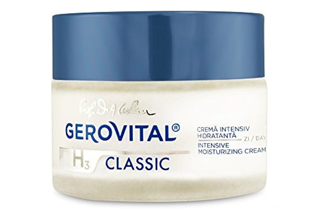 限りなく薄める裸ジェロビタール H3 クラシック インテンシブ モイスチュアライジングデイクリーム 50 ml / 1.69 fl.oz. [海外直送] [並行輸入品]