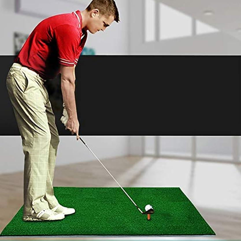 斧犯人で出来ているゴルフ用品 屋内ゴルフ練習マットEVAマテリアルゴルフトレーニングマットTEEレギュラーエディション、サイズ:30 * 90cm