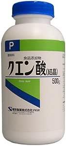 【食品添加物】クエン酸 500g