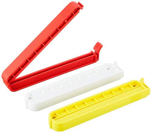 ウェーロック社 クリップイット PA110mm 3個セット(白赤黄)