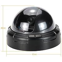 Yiteng CCTVセキュリティシステムのためのシミュレーションドームカメラ偽ダミー赤色LED点滅ライト