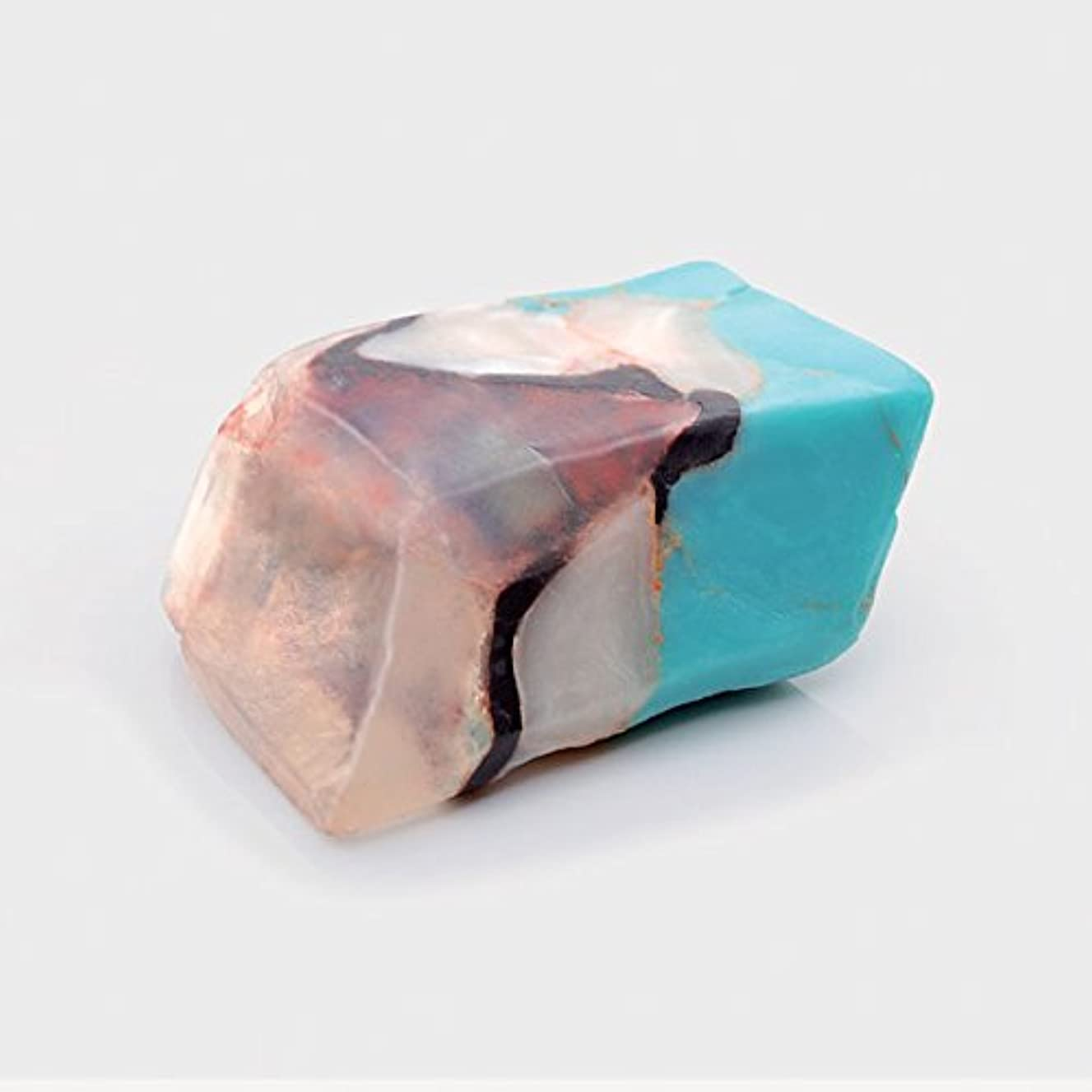 駐地シャッター遠足Savons Gemme サボンジェム 世界で一番美しい宝石石鹸 フレグランス ソープ ターコイズ ミニ ギフト【日本総代理店】
