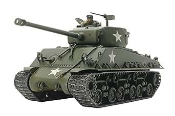 タミヤ 1/48 ミリタリーミニチュアシリーズ No.96 アメリカ戦車 M4A3E シャーマン イージーエイト プラモデル 32595