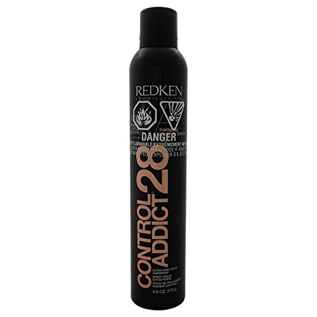 歯車シャーロットブロンテ蛾by Redken CONTROL ADDICT 28 EXTRA-HIGH HOLD HAIR SPRAY 9.8 OZ(BLACK PACKAGING) by REDKEN