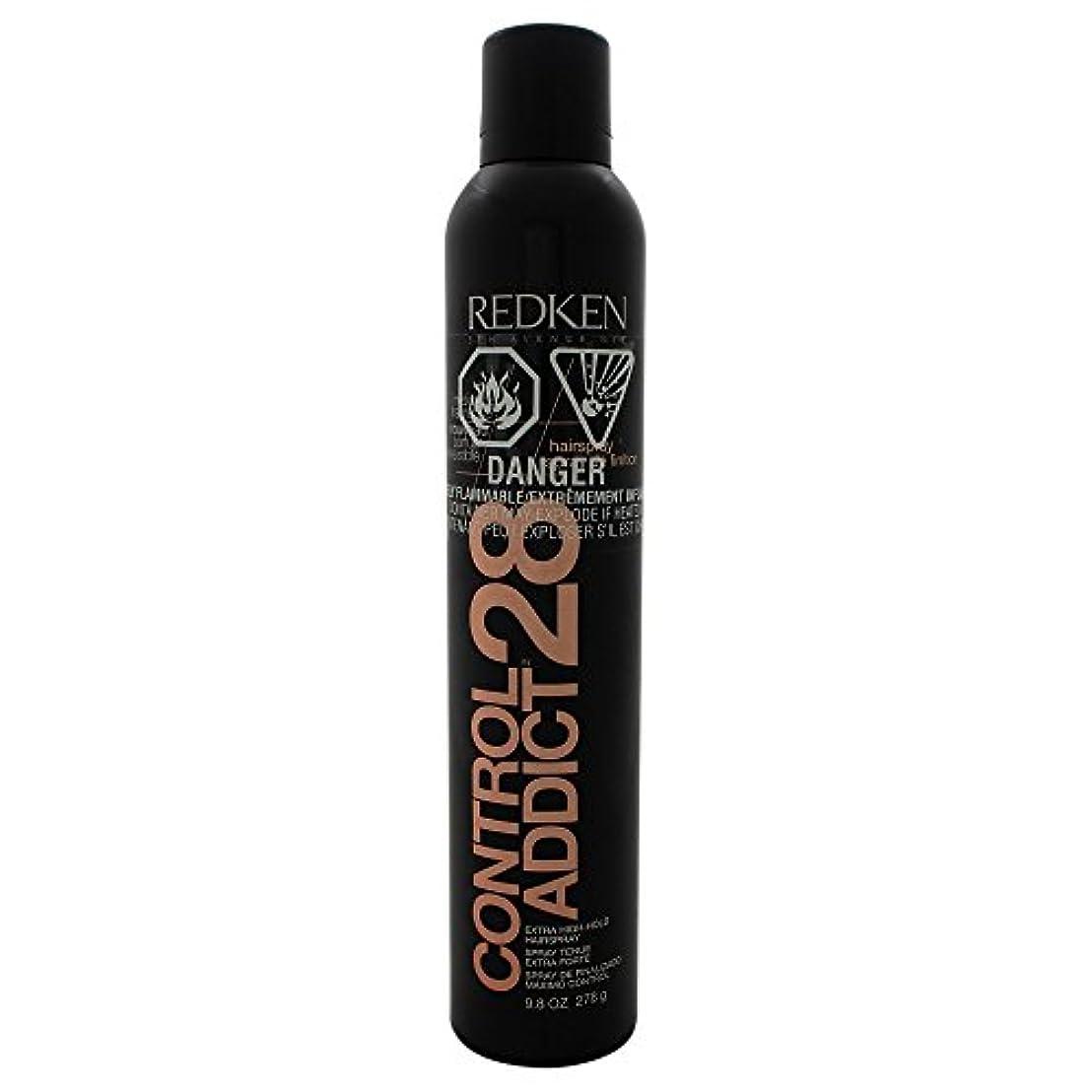 ガード想像力豊かな問い合わせby Redken CONTROL ADDICT 28 EXTRA-HIGH HOLD HAIR SPRAY 9.8 OZ(BLACK PACKAGING) by REDKEN