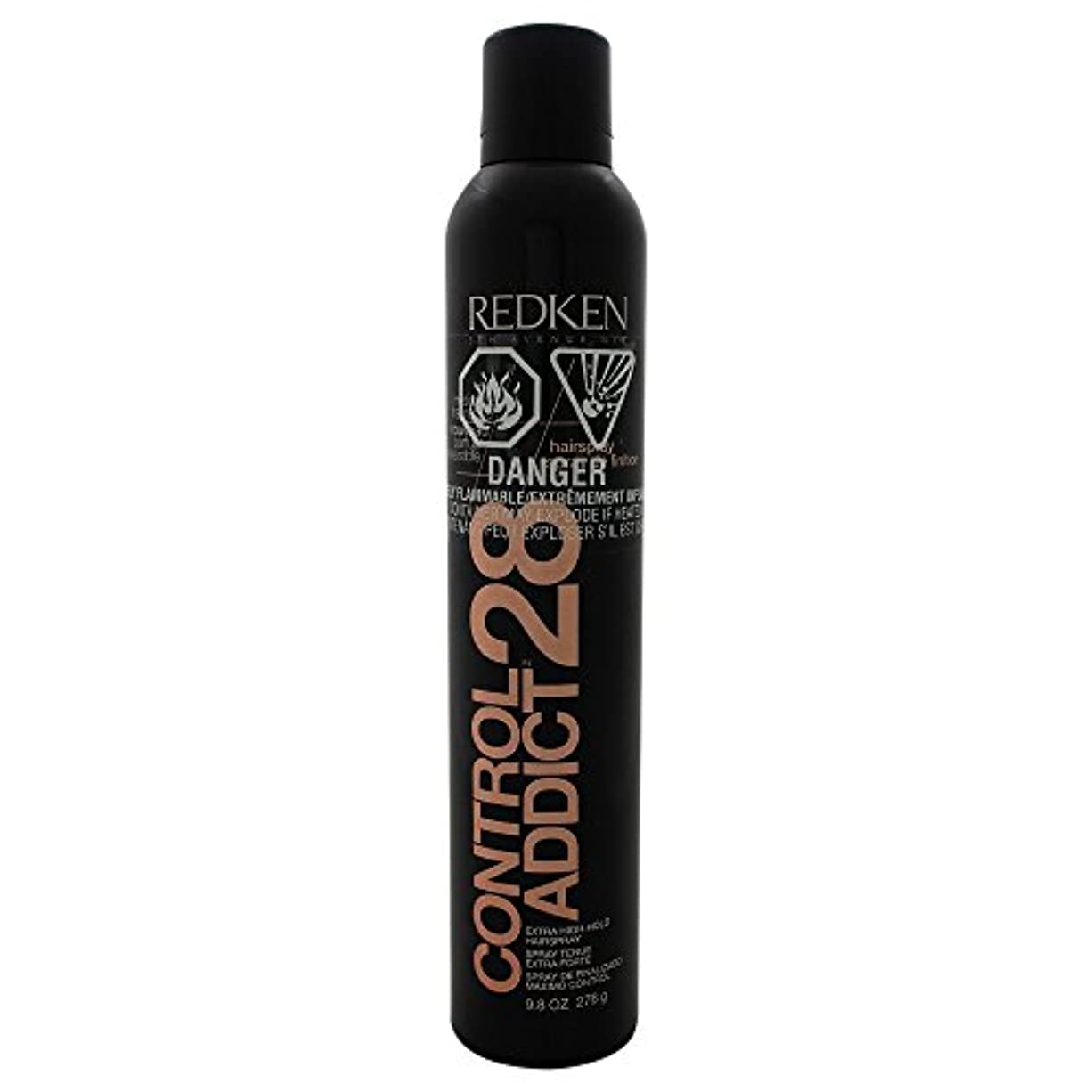 スパイラル剥離接触by Redken CONTROL ADDICT 28 EXTRA-HIGH HOLD HAIR SPRAY 9.8 OZ(BLACK PACKAGING) by REDKEN