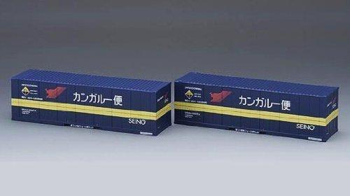 TOMIX HOゲージ HO-3118 U54A-30000形コンテナ (西濃運輸・2個入)