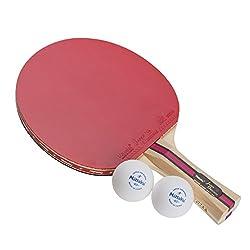 ニッタク(Nittaku) 卓球 ラケット ジャパンオリジナルプラス シェーク1000 (貼り上がり プラスチックボール2個付き) NH-5131