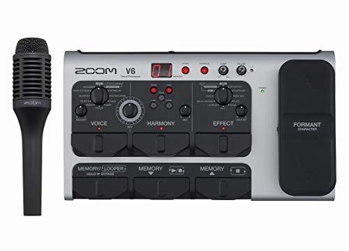 ZOOM ズーム / V6 ボーカル用プロセッサ