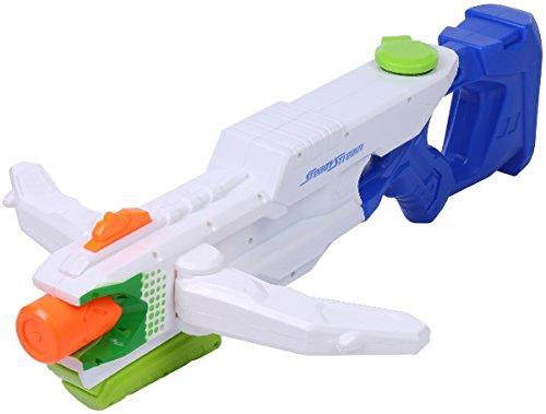 [해외][OneStepAdvance] 세 쏘아 맞혀 포 식 물총 세 쏘아 맞혀 포 식 워터 건 물총 장난감 초강력 비거리 9-12m/[OneStepAdvance] Thunder gun type water gun Three gun type water gun Water gun toy Super strong flying distance 9 - 12 m